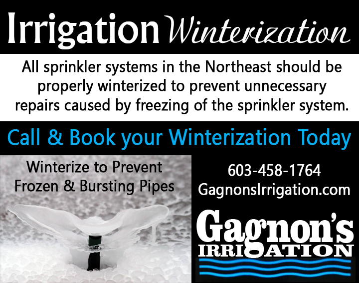 Irrigation Winterization Sprinkler System Blowout Pelham, NH
